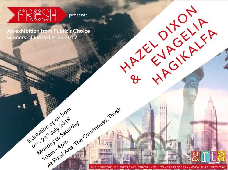 Hazel Dixon and Evagelia Hagikalfa