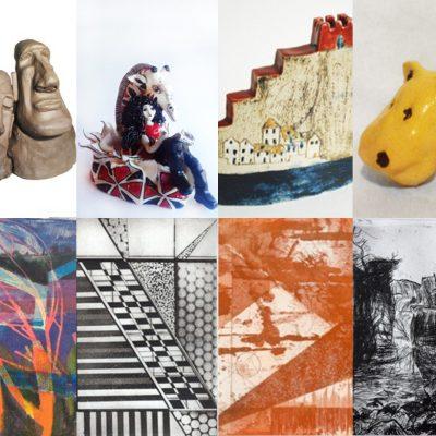 ceramics and print exhibition